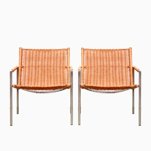 SZ01 Armchairs by Martin Visser for 't Spectrum, 1960s, Set of 2