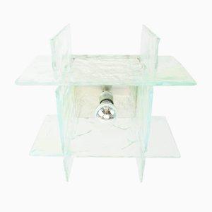 Lámpara de techo italiana de cristal de Murano de Carlo Nason para Mazzega, años 70