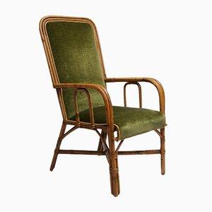Chaise en Osier par Dirk van Sliedregt pour Rohe Noordwolde, 1950s