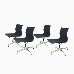 EA 106 Swivel Chairs by Charles & Ray Eames for Vitra, 1980s, Set of 4