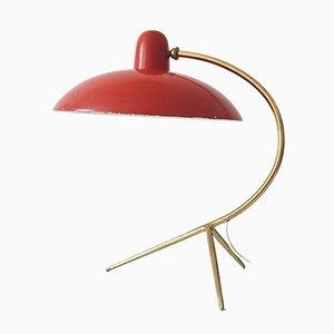 Lámpara de mesa italiana, años 50