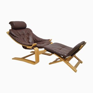 Vintage Kroken Lounge Chair by Ake Fribyter for Nelo