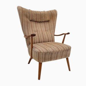 Scandinavian Wool Armchair by Walter Knoll, 1960s