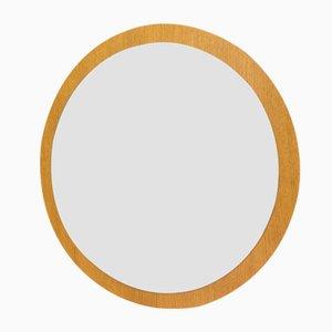 Espejo de pared circular, años 60