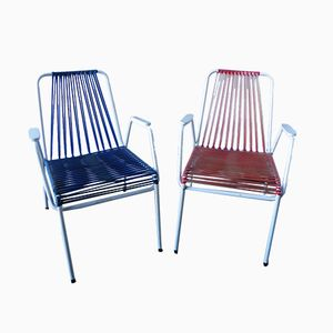 German Garden Chairs from Mauser Werke, 1970s, Set of 2