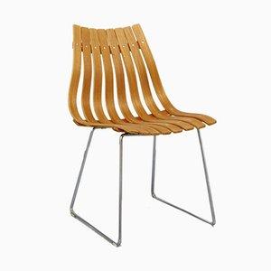 Teak Scandia Chair von Hans Brattrud für Howe Mobler, 1957