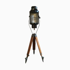 Vintage Tripod Theater Spotlight, 1950s