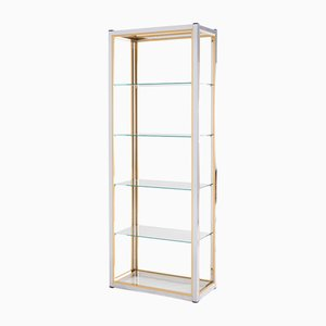 Vitrine Hollywood Regency Vintage par Renato Zevi