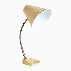 Lampe de Bureau Crème Vintage, Autriche, 1960s