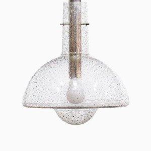 Mid-Century Glass Pendant Lamp from Limburg, 1960s