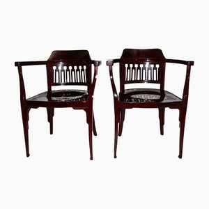 Fauteuils No. 714 Antiques de Jacob & Josef Kohn, Set de 2