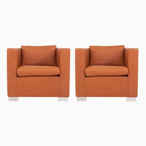 Vintage Suitcase Armchairs by Rodolfo Dordoni for Minotti, Set of 2