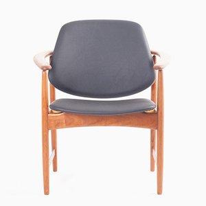 Chaise en Teck par Arne Hovmand Olsen pour Jutex, 1960s