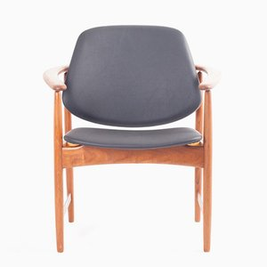 Teak Armchair by Arne Hovmand Olsen for Jutex, 1960s
