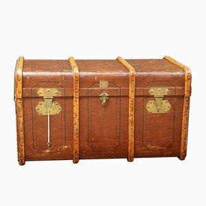 Baúl de madera curvada, años 20