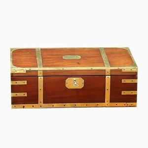 Kiste mit ausklappbarer Schreibfläche, 1940er