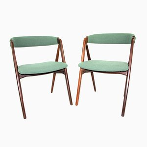 Danish Chairs by Kai Kristiansen for Schou Andersen, 1960s, Set of 2