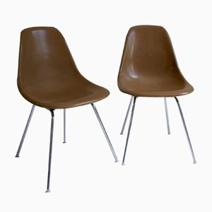 Mid-Century DSX Fiberglass Chairs by Charles & Ray Eames for Vitra, Set of 2