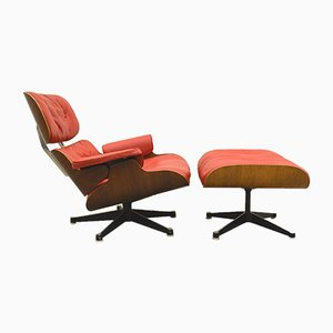 Lounge Chair & Ottoman by Ray & Charles Eames for Herman Miller, 1950s