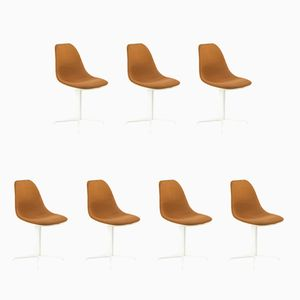 Vintage La Fonda Chairs by Charles & Ray Eames for Herman Miller, Set of 7