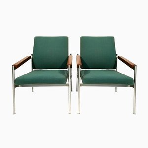 Vintage Lounge Chairs by Kay Bæch Hansen for Fritz Hansen, Set of 2