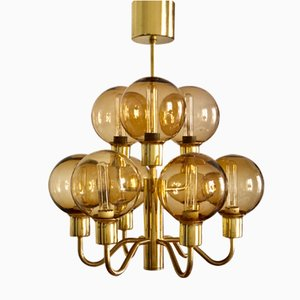 Vintage T716 Solo Chandelier by Hans-Agne Jakobsson