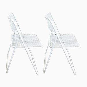 Ted Net Esszimmerstühle von Niels Gammelgaard für IKEA, 1978, 2er Set