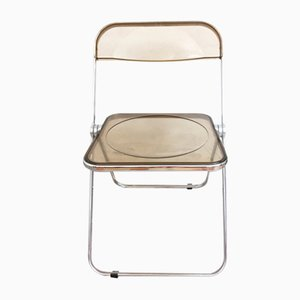 Plia Folding Chair by Giancarlo Piretti for Castelli, 1970s