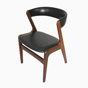 Chaise en Teck par Kai Kristiansen pour Schou Andersen, 1960s