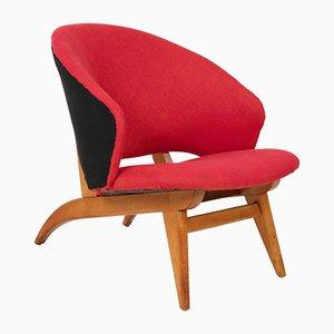 Fauteuil Mid-Century Moderne par Theo Ruth pour Artifort, Pays-Bas, 1950s
