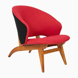 Mid-Century Dutch Modern Lounge Chair by Theo Ruth for Artifort, 1950s