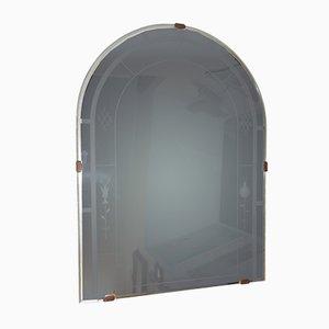 Italienischer Art Deco Spiegel von Luigi Fontana, 1920er