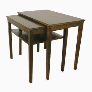 Tavolini a incastro Mid-Century, Danimarca, anni '60, set di 2