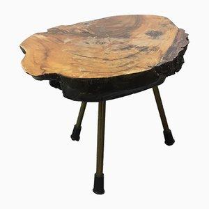 Tavolo creato da un tronco di Carl Auböck, anni '50