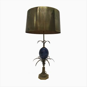 Vintage Table Lamp by Charles Zublena for Maison Charles