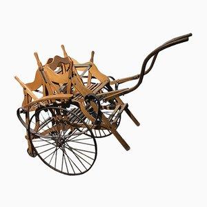 Chariot Antique avec 2 Sièges, Espagne