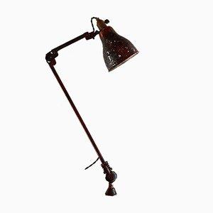 Vintage Architect's Clamp Lamp by Le Corbusier for LL Paris