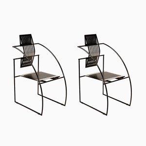 Quinta Stühle von Mario Botta für Alias Design, 1986, 2er Set