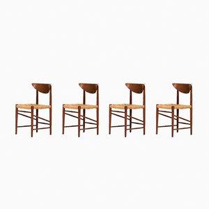 Chaises de Salle à Manger Modèle 316 par Peter Hvidt et Orla Molgaard Nielsen pour Soborg Mobelfabrik, 1950s, Set de 6