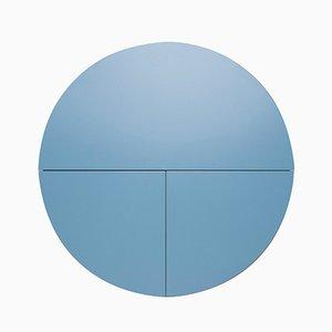 Mueble Multifunctional Pill en blanco y azul de Dalius Razauskas para Emko