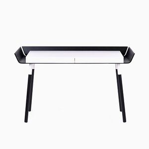 Large My Writing Desk in Black & White by etc.etc. for Emko