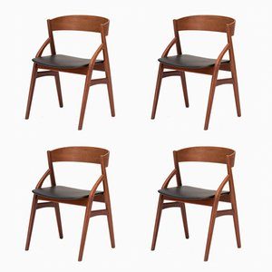 Dining Chairs by Kai Kristiansen for Korup, 1960s, Set of 4