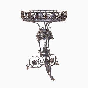 Antiker Übertopf aus Eisen von Alessandro Mazzucotelli, 1900er