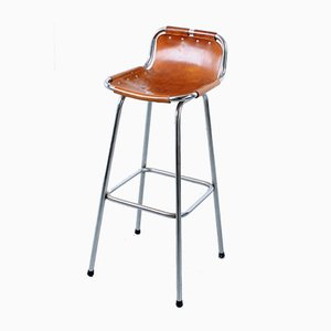Les Arcs Bar Stool by Charlotte Perriand for Cassina, 1960s