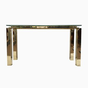 Console Table from Belgo Chrom, 1970s