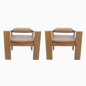 Artona Chair von Afra & Tobia Scarpa für Maxalto, 1975