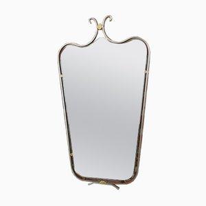 Miroir Biseaté Mid-Century, 1950s