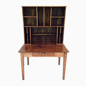 Antiker französischer Mahagoni Schreibtisch