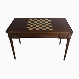 Mesa para juegos Louis XVI, década de 1800
