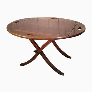 Table Pliante Vintage en Acajou